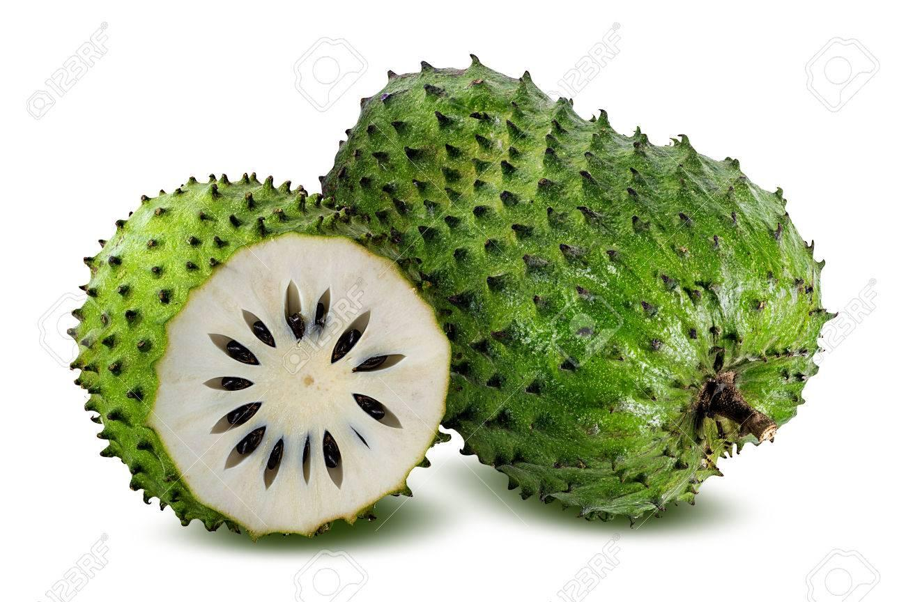 Annona Muricata.Soursop Fruit (Sugar Apple ,custard Apple ...